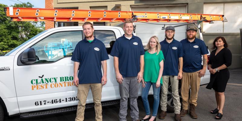 Clancy Bros Pest Control team of exterminators in the Boston Area.